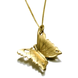 The Fifi Bijoux Butterfly pendant necklace