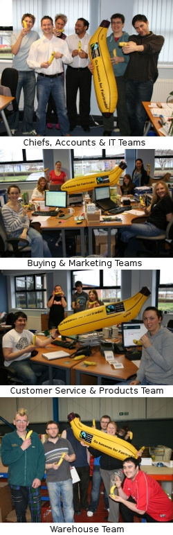 Ethical Superstore Teams Go Bananas!