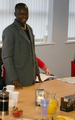Anane Mensah sharing his Divine Story
