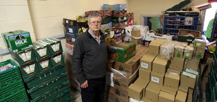 Newcastle West End food bank