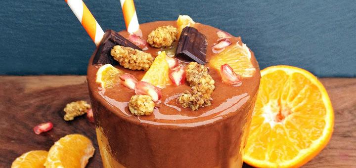 Aduna jaffa chocolate smoothie recipe