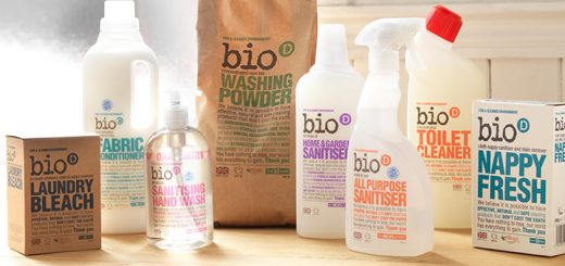 Bio-D eco-friendly cleaning for kitchen and home