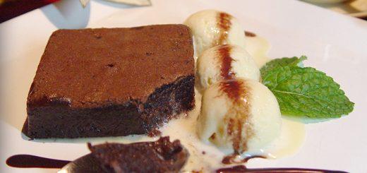 Divine chocolate brownie