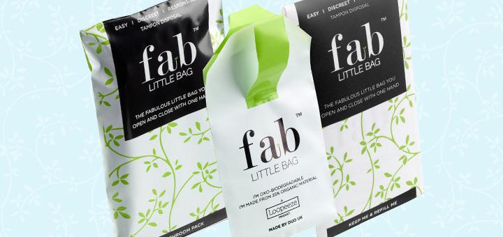 Fab Little Bag - biodegradable tampon disposal