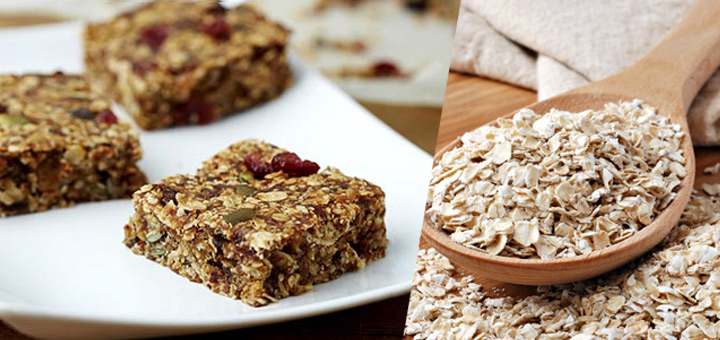 Vegetarian Week recipe - fruity flapjack