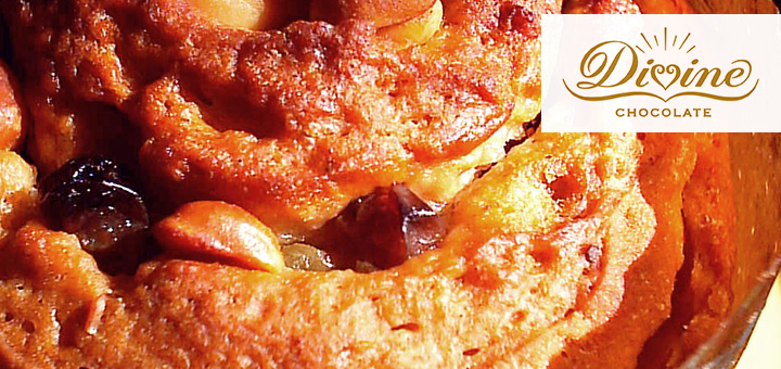 Divine Chocolate panettone recipe