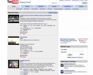 Youtube circa 2006