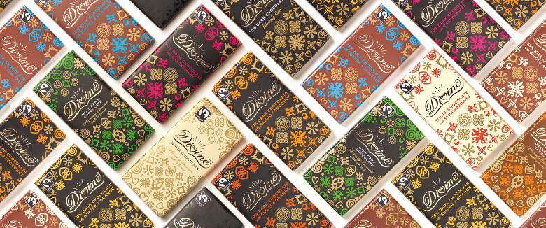 What is divine chocolate target market?