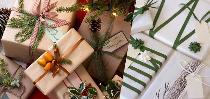 Eco-friendly Christmas gift wrapping ideas