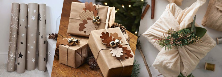 Eco-friendly sustainable and creative gift wrap ideas