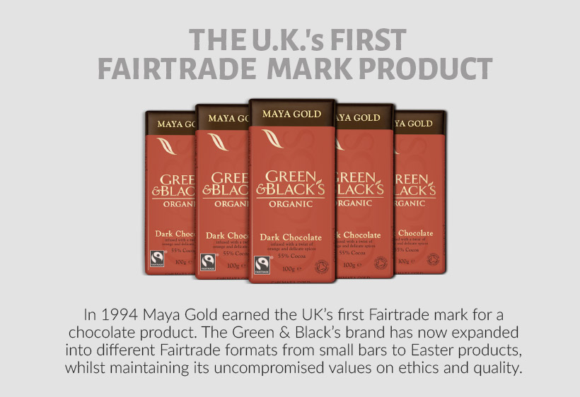 Maya Gold First UK's Fairtrade product