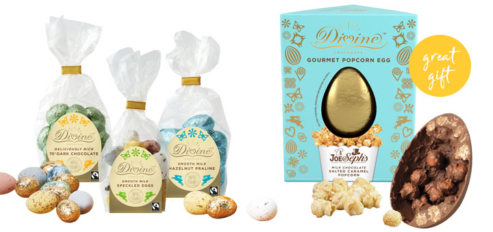 Divine Chocolate Popcorn Easter egg