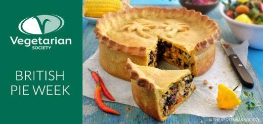 Vegetarian Society Jackfruit Pie