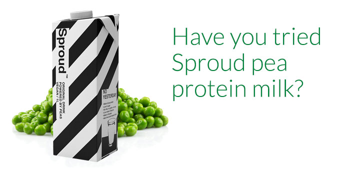 Sproud Pea Milk
