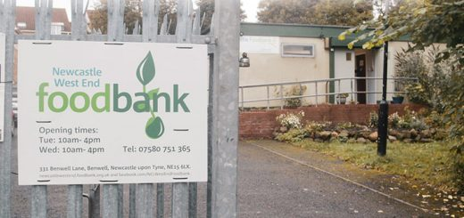 Newcastle Foodbank - thank you for helping us donate