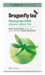 Dragonfly Moroccan mint tea