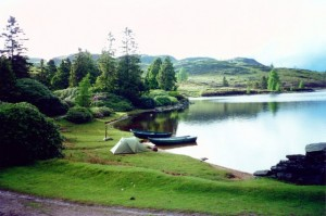 Camping At Loch Ordie © John Watson