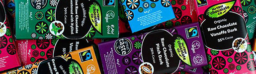Dairy free and vegan chocolate ranges