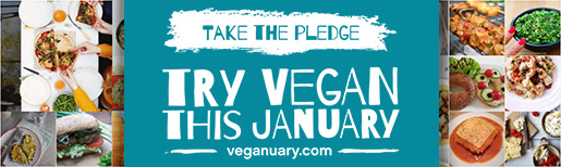 Try #Veganuary - Vegan January for your health, for planet, for animals