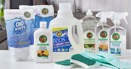 earth-friendly-products-range