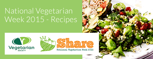 National Vegetarian Week - recipes