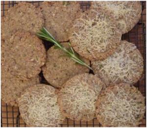 Pecorino biscuits