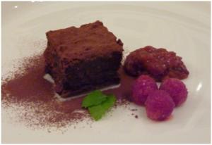 Gluten free triple feel good chocolate truffle cake