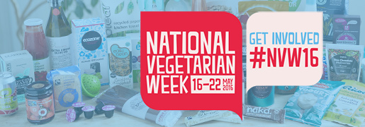 National Vegetarian Week 2016 - get 20% off at Ethical Superstore!