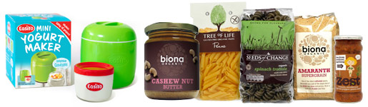 National Vegetarian Week - staple cupboard products and meal options
