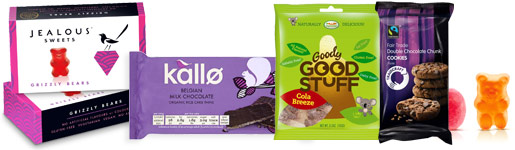 National Vegetarian Week - sweets, treats and gelatine free