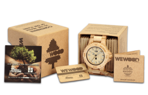 WeWOOD watch in box
