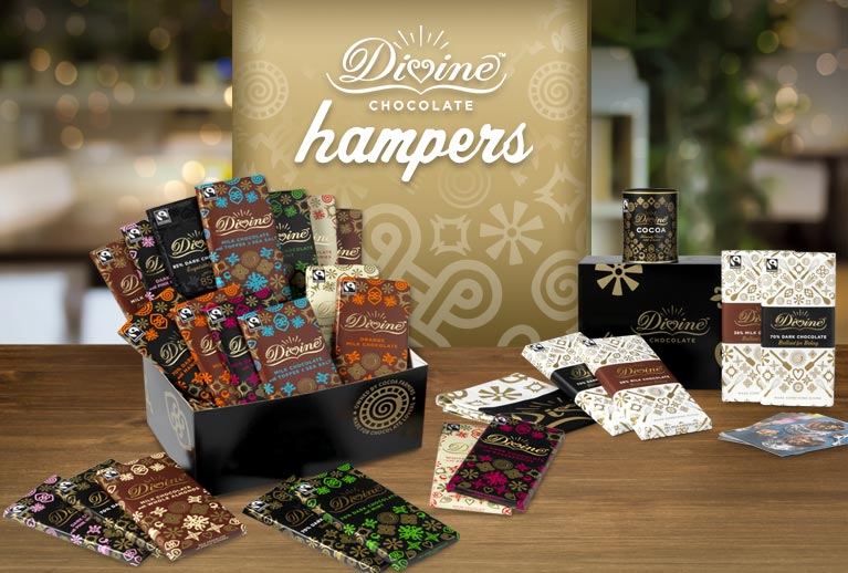 Divine Hampers bursting with a variety of fabulous flavours