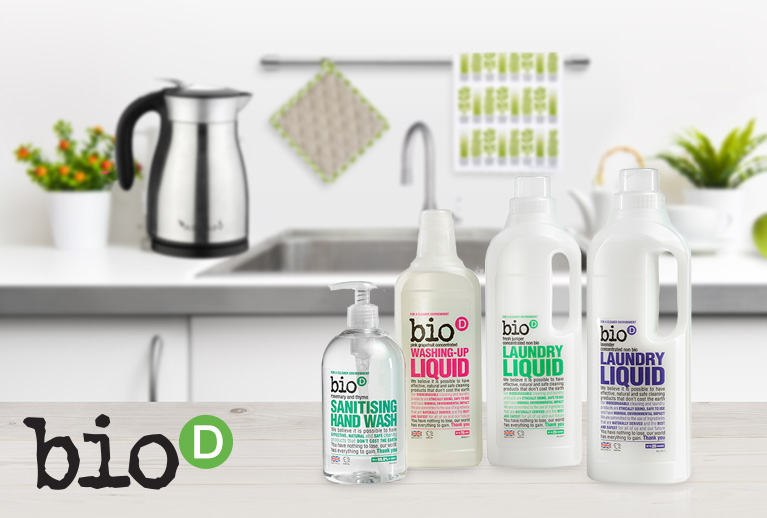 Bio-D Eco-friendly cleaning that doesn't cost the earth