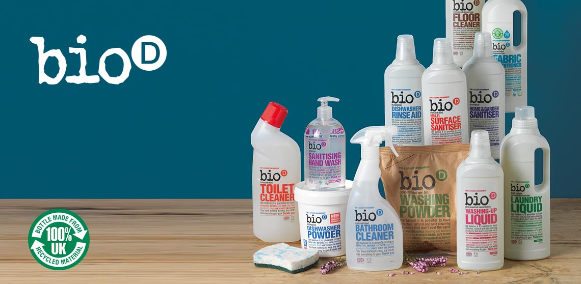 Bio D eco friendly cleaning