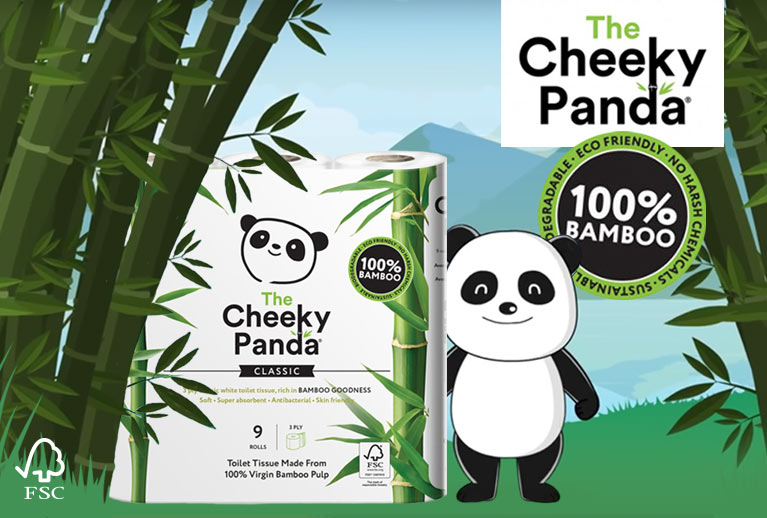 Have You Tried Cheeky Panda Bamboo Tissues & Toilets Rolls