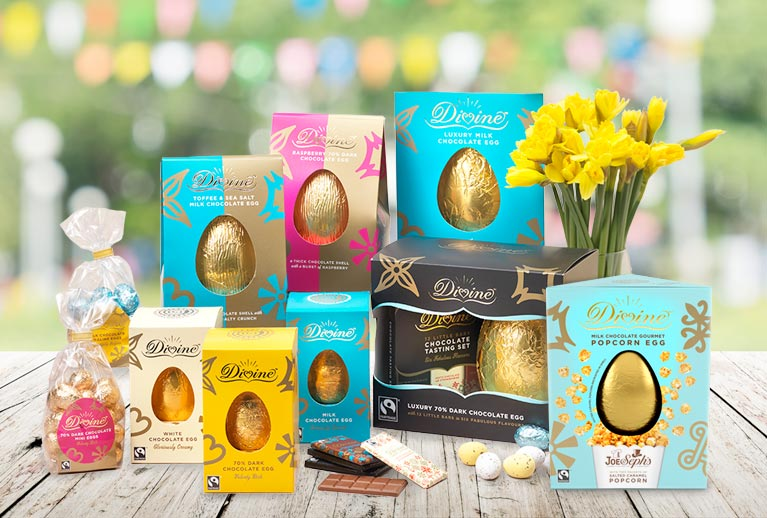 The finest fair trade and organic Easter chocolates and eggs.