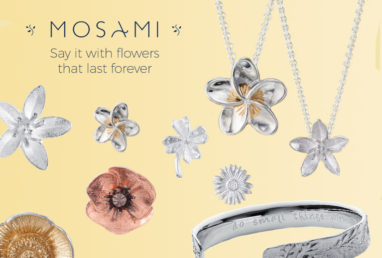 Beautiful ethically made jewellery from Mosami