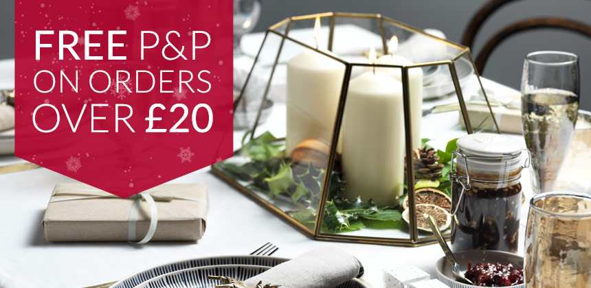 Free delivery on orders over £20! Perfect for festive food essentials
