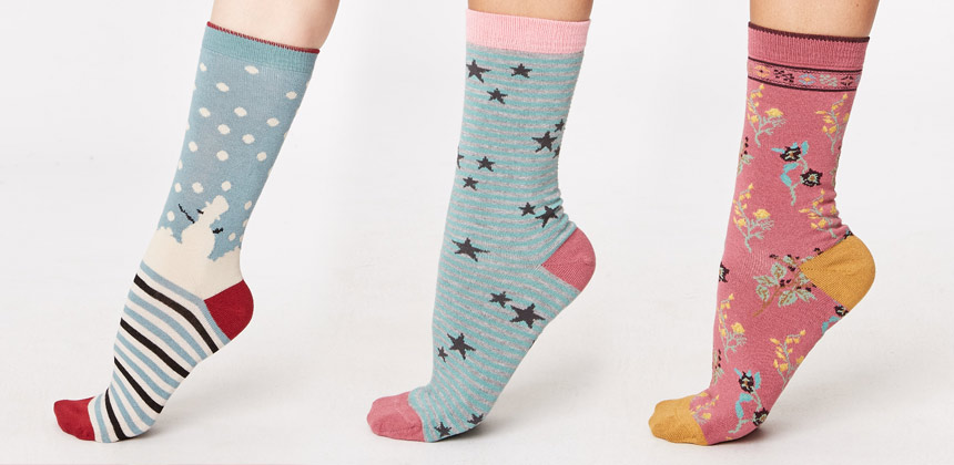 Cosy ethically made socks for all the family