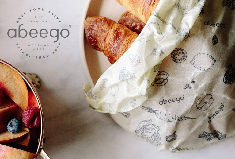 Try Abeego - the organic, natural, plastic free food wrap