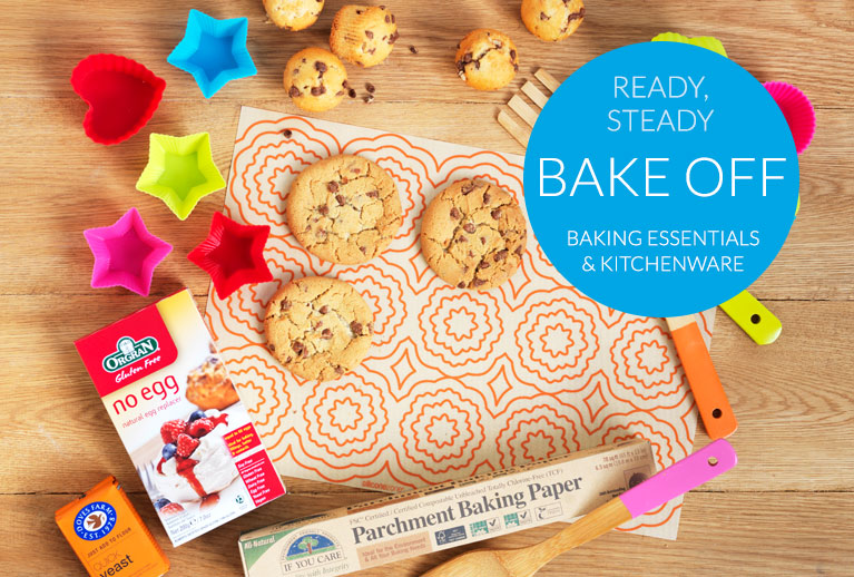 Fairtrade, organic and natural baking for Great British Bake Off