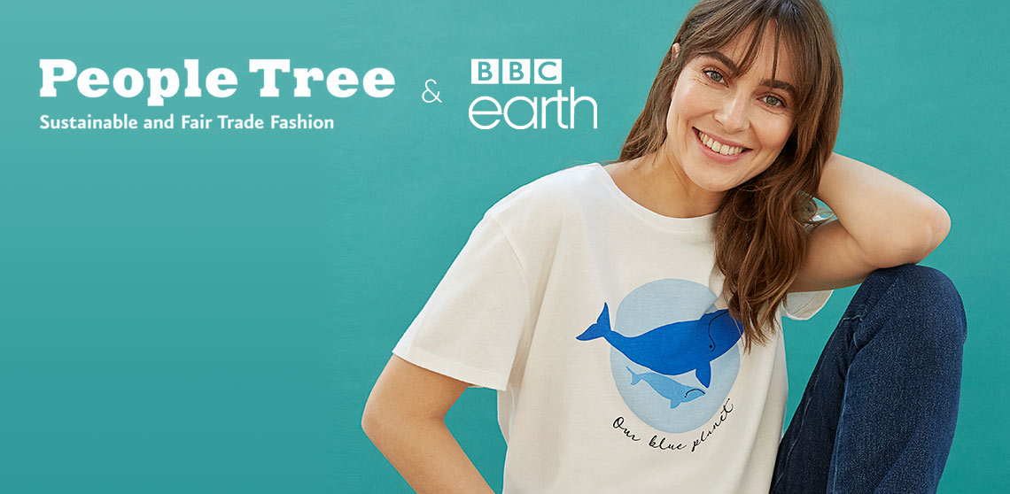NEW organic range from People Tree & BBC Earth