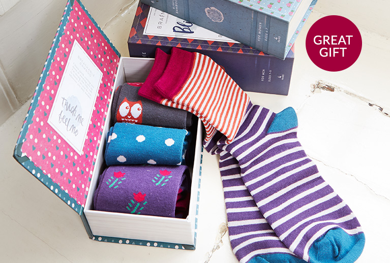 Braintree bamboo socks for cosy toes and great gifts