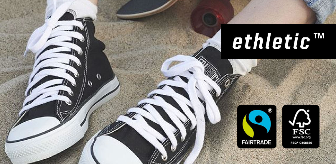 Put an ethical foot forward with Ethletic