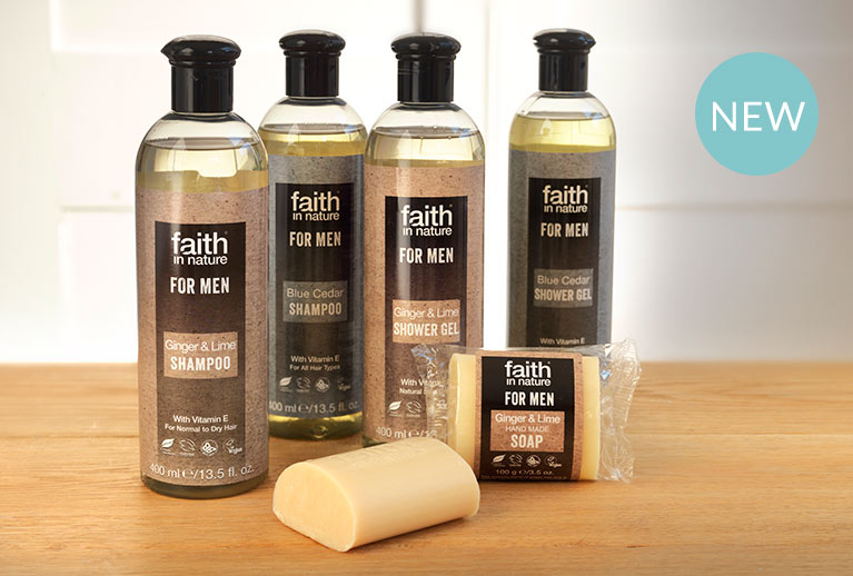 Faith in Nature skincare, bodycare and haircare