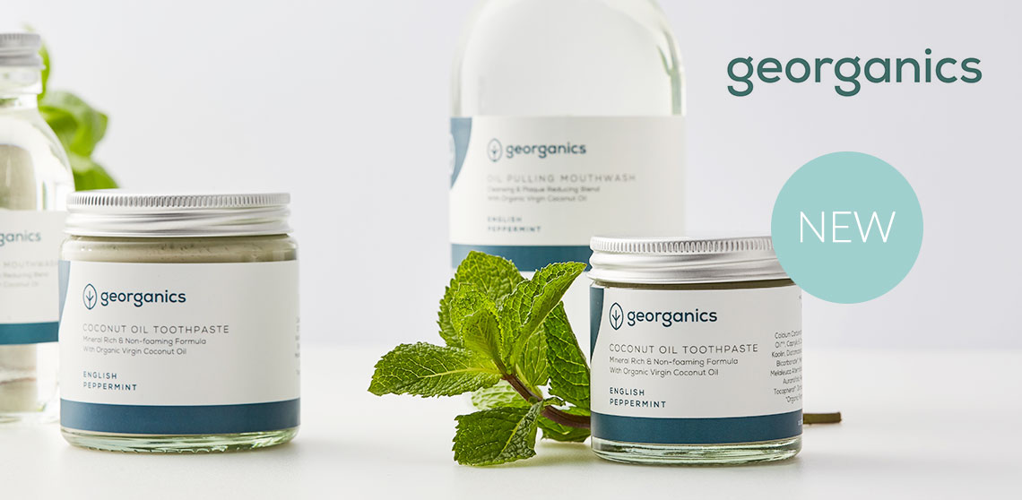 NEW plastic free dental care from Georganics