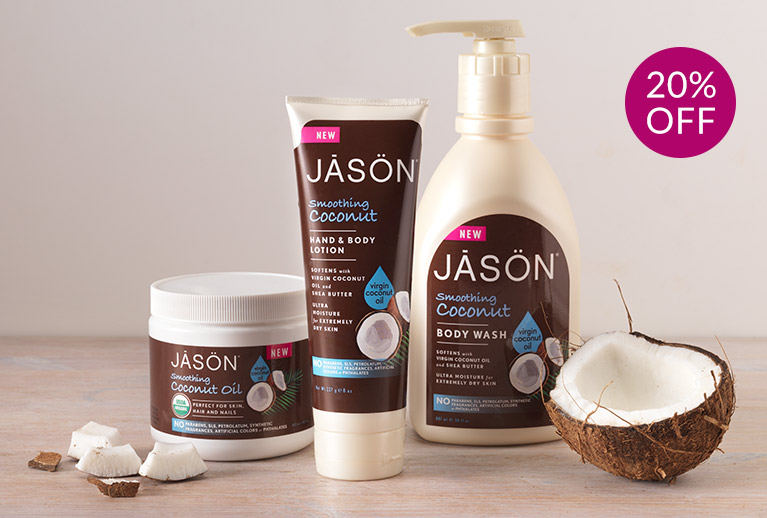 20% off Jason natural skincare