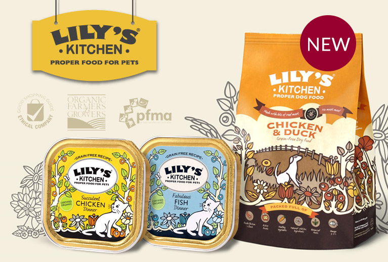 NEW Lily's Kitchen ethical, natural pet food