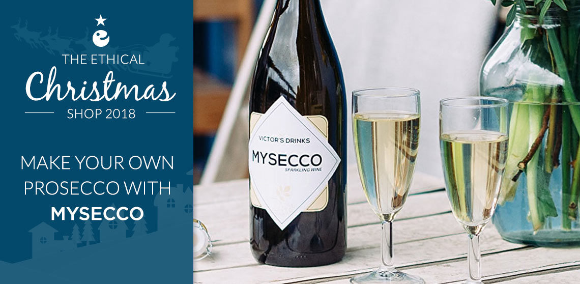 Make your own prosecco with Mysecco