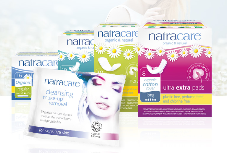 Organic and natural feminine care from Natracare